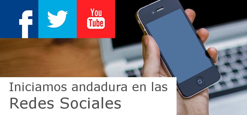 Redes Sociales - Linkedin, Twitter, Youtube